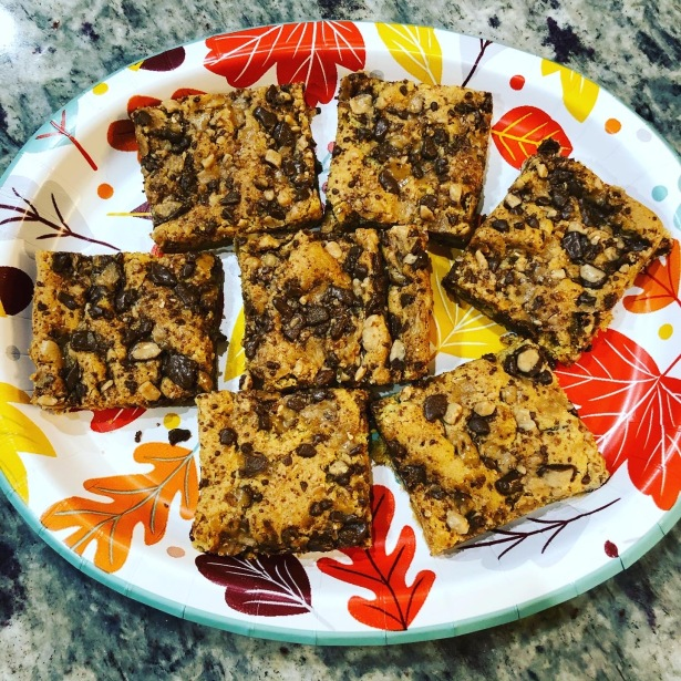 Butterscotch Toffee Bars