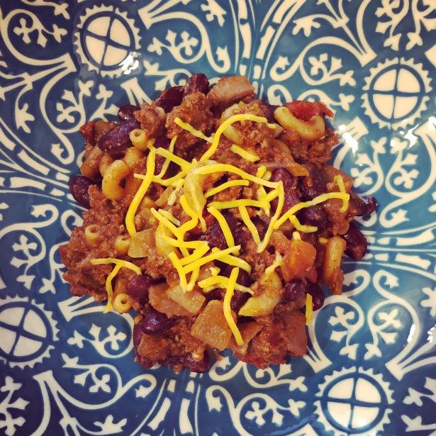 Chili Pasta Skillet