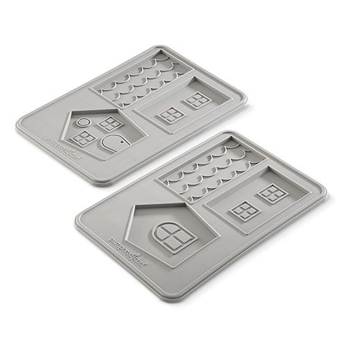 Pampered Chef Cookie House Molds