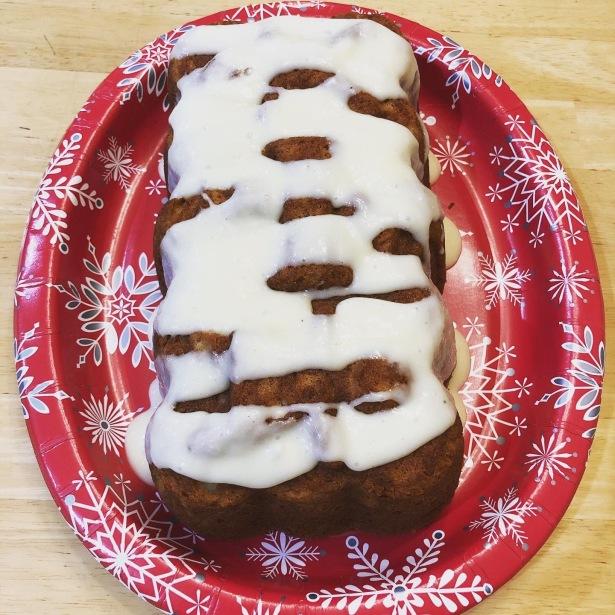 Holiday Eggnog Quick Bread