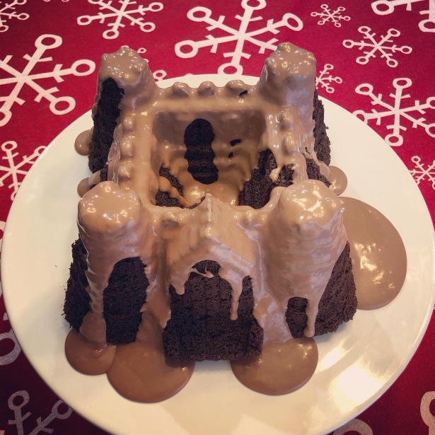Salted Caramel Mocha Bundt Cake AKA Coffee Creamer Cake