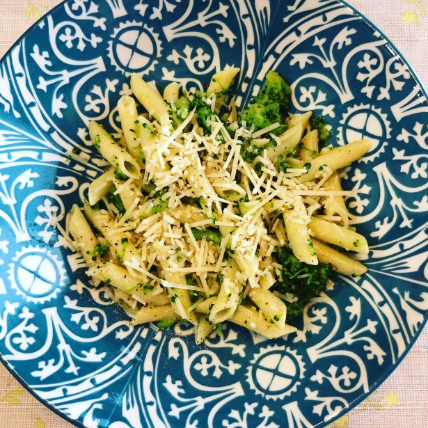 Easiest Pasta and Broccoli