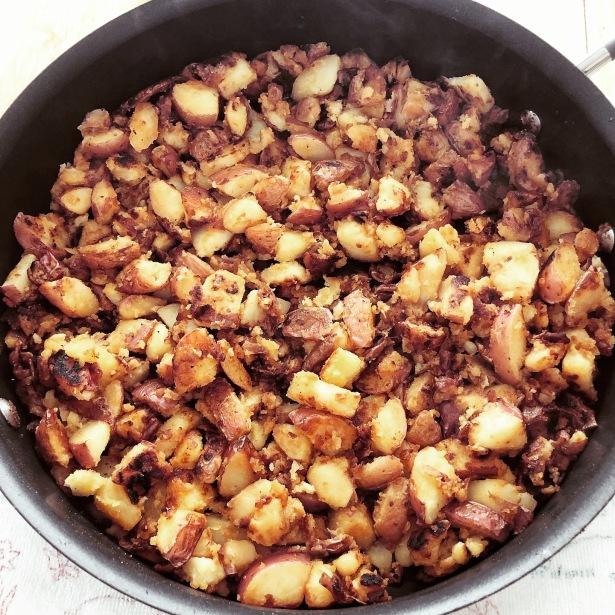 Skillet Red Skin Potatoes