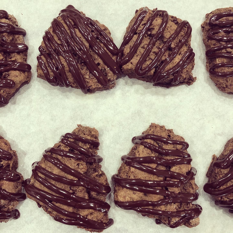 Triple Chocolate Scones